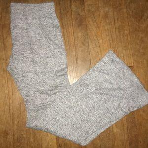 Fleece flair pants